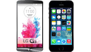 iPhone 6 vs LG G3 – The up ing smartphone battle of the year