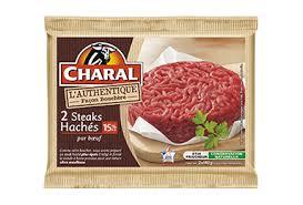 comment cuisiner un steak haché steak haché authentique pur bœuf 15 fiche produit charal