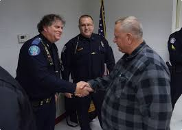 citizens police academy graduates people from spring township