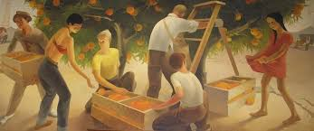 Harlem Hospital Wpa Murals by Wpa Post Office Mural Wichita Post Office Mural Pinterest