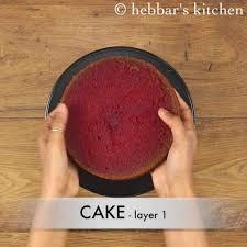 velvet cake recipe easy moist eggless velvet cake recipe