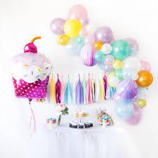 Dolphin Balloon Garland Birthday Kit