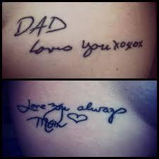 Tatuajes Para Padres E Hijos