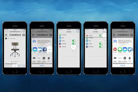 Pin Tip Pin on the go with iOS 8