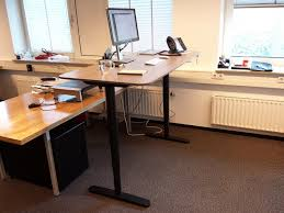 Ikea Bekant L Shaped Desk by The Bekant By Ikea Gray Top Startup Space Inspiration