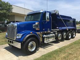 100 Freightliner Select Trucks 2019 122SD Quad Dump With RS Body Triad