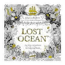Lost Ocean Coloring Book Being Released In October 2015