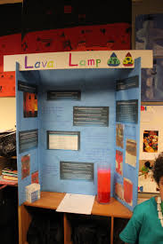 Lava Lamp Science Project Results by Science Fair