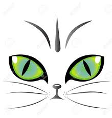 cat eye template cat clip clipart free