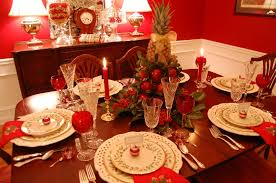 Christmas Centerpieces For Dining Room Tables by Christmas Tablescape With Lenox Holiday And A Colonial