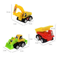 100 Trucks Unique Plastic Toy Dump Toy Car Plastic Construction Vehicles