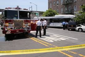 Two Accidents Involving FDNY Fire Trucks And One Bus In Astoria ... Bull Horns On Fdny 24 Fire Truck Duanco Mehdi Kdourli Brings Back Fifth Refighter To Engine Companies That Lost Mighty Fire Truck Shop Trucks Graveyard Queens New York City 46th Str Flickr Rcues Fire Truck Stuck In Sinkhole Inside The Fleet Repair Facility Keeping Nations Largest Backs Into Garage Editorial Photo Image Of Squad Fdnytruckscom Mhattan Blows Tire And Shatters Store Window Free Images Car New York Mhattan City Red Nyc Usa Code 3 Rescue Engine 5000 Pclick