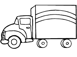 Coloring Pages Trucks Page Truck 20