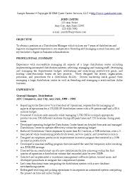 Resumes For Management