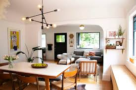 100 Bungalow Living Room Design Scandinavian Inspired Small Portland Tour Apartment Therapy