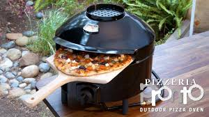Blackstone Patio Oven Manual by Pizzeria Pronto Outdoor Pizza Oven Youtube