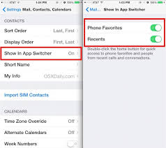 Hide Contacts & Faces from the Multitasking App Switcher in iOS 8