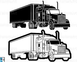 Captivating 18 Wheeler Clipart Freightliner Kid Semi Truck - Cilpart Unique Semi Truck Clipart Collection Digital Black And White Panda Free Images Tanker Cliparts Zone 5437 Stock Illustrations Royalty Grill Speeding Big Rig In The Highway Vector Illustration Of Black And White Semi Truck Clipart Icon Stock Vector Art 678052584 Istock Clipartmansioncom