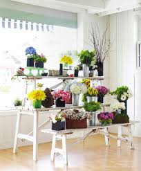 Flower Shop Display Or Deck Flowers
