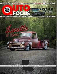 Auto Focus Magazine By Auto Focus Media - Issuu American In Paris Sending His Collection To Hh Auction Used Cars Baton Rouge La Trucks Saia Auto Craigslist Lafayette La Best Car 2017 New And For Sale Priced 5000 Autocom Truck Accidents Brandt Sherman Ray Chevrolet Iberia Dealer Abbeville Featured Dealership In Nash 1938 Motors Was An Automobile Manufact Flickr Chevy Trucks Bikes Pinterest West Indiana By Owner Silverado 1500 High Country Skylands Stadium Hosts Truck Show Franklin Hamburg Nj