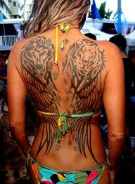 Wing Tattoo Designs 25