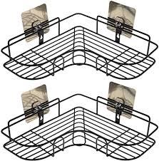 2 stück eckregal dusche caddy organizer badezimmer