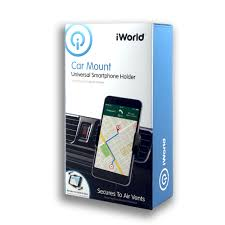 iWorld Car Mount Universal Air Vents Smartphone Holder eWirelessUSA