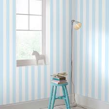 Navy And White Striped Curtains Amazon by Graham U0026 Brown Pastel Blue White Stripe Wallpaper Kids Playroom