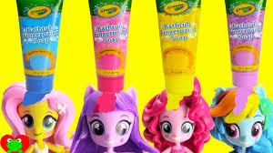 my little pony mini dolls bath soap and sleep time surprises youtube