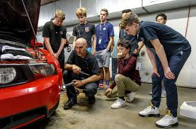 100 Auto Re UP Teens Learn Skills One Mustang At A Time