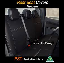 SEAT COVER Fits Subaru Forester REAR+ARMREST 100% WATERPROOF PREMIUM ...