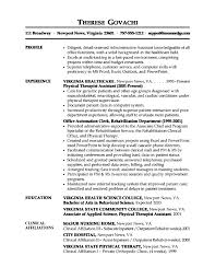Resume Medical Office Assistant