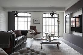 Luxury Loft Apartment Living Room Industrial Living Room