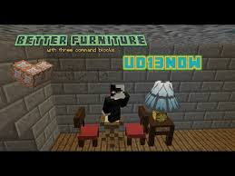 better furniture with micro blocks in vanilla minecraft with
