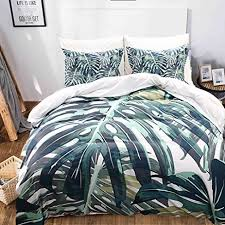 Amazon Green Palm Tree Bedding Green Duvet Cover Set Palm