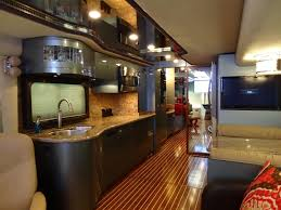 The Woody RV Interior Remodel Galley After At OCRV Paint And Service