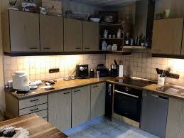 verkaufe gut erhaltene gebrauchte küche in l form