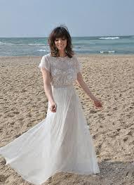 Bohemian Lace Wedding Dress 620 Barzelai