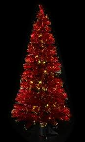 Cheap Fiber Optic Christmas Tree 6ft by Red Fibre Optic Christmas Tree Rainforest Islands Ferry