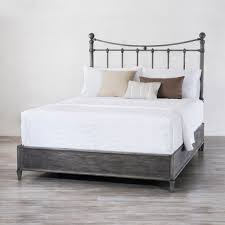 Wesley Allen King Size Headboards by Quati Iron Bed With Surround By Wesley Allen Humble Abode