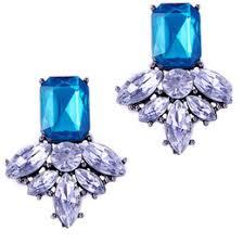 Online Shopping 2016 Hot Sale Large Gem Crystal Elf Earrings For Women E1324 E1331