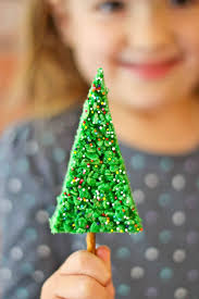 Rice Krispie Christmas Tree Pops by Easy Christmas Tree Rice Krispie Treats With Rachel Cooks