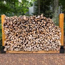 details zu 12er stapelhilfe holzstapelhilfe brennholz kaminholzregal holzstapelhalter