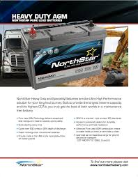 100 Heavy Duty Truck Battery NorthStar Batteries Midstate
