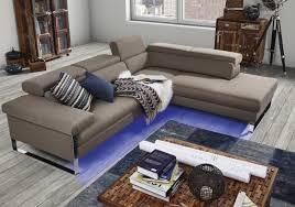 canapé d angle cuir design dreamline canapé d angle cuir design 4 places assise réglables
