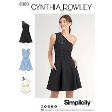 womens knit dress or top simplicity sewing pattern 8380 floral