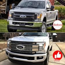 100 Ford Truck Grill Amazoncom E Fits 20172018 F250 F350 F450 F550 Super