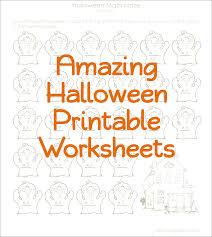 Halloween Multiplication Worksheets 5th Grade by Halloween Printable Worksheets For Kids U2013 Fun For Halloween