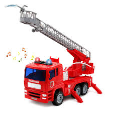 100 Fire Truck Sirens Amazoncom Yoptote Engine Truck Toy Shoot Water With