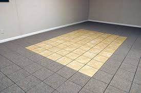 Tiled Carpet by Theramldry Carpeted Basement Flooring Mold U0026 Waterproof